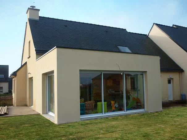 Agrandir teraa for Extension maison