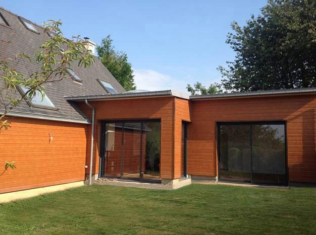Agrandir teraa for Extension maison suite parentale