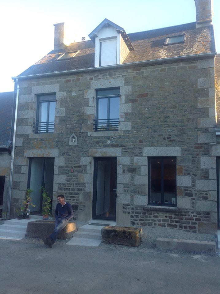 Rénovation d'une maison sur deux étages dans la campagne normande