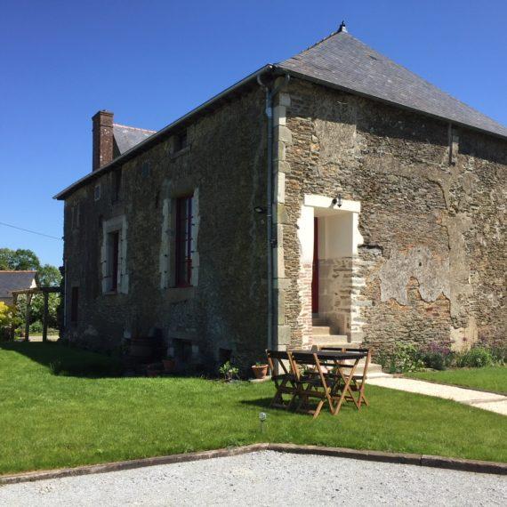 Rénovation d'un manoir dans la campagne de Vitré (35)